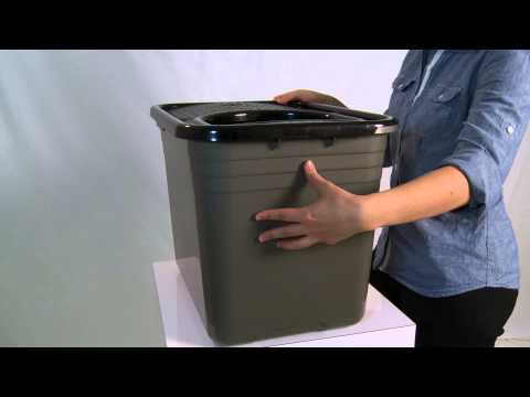 Petmate(R) Top Entry Litter Pan - product demo
