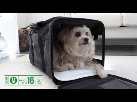 SHERPA® Original Deluxe™ Medium Black Pet Travel Carrier