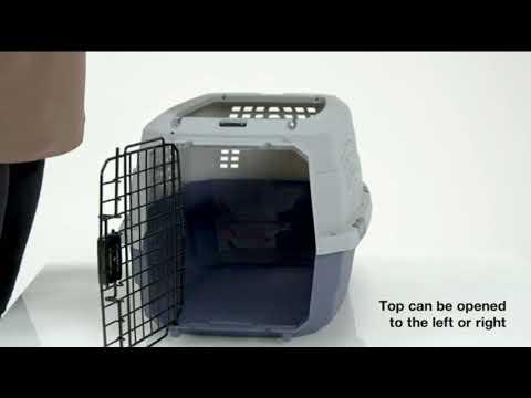 AmazonBasics Two Door Top Load Pet Kennel//Amazon//Amazon's Choice//AmazonBasics