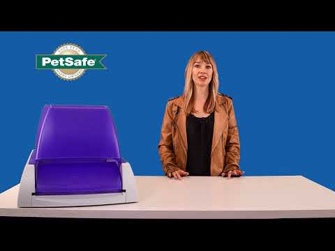 Give Your Cat a Privacy Hood - PetSafe® ScoopFree® Ultra Self-Cleaning Litter Box